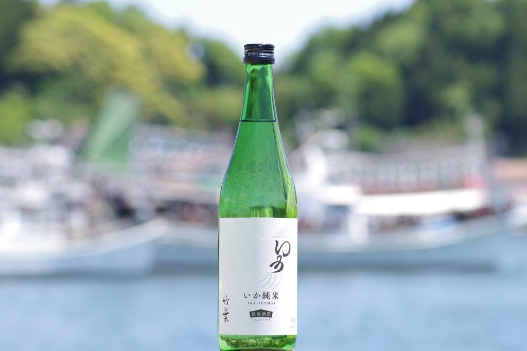 「竹葉 イカ純米」の画像検索結果