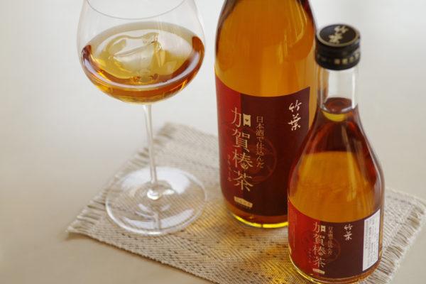 日本酒で仕込んだ加賀棒茶リキュール