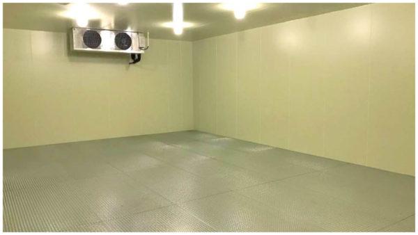 2020年に増設した大型冷蔵室